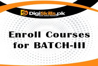 Course Enrollment for Batch-03