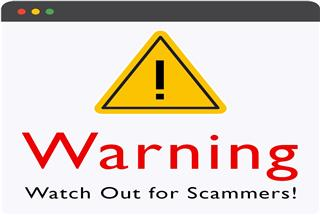 Watch Out for Scammers!