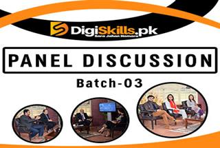 Commencement of Panel Discussion Batch-03