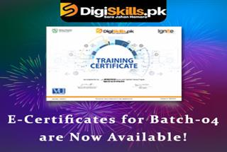 E-Certificates for Batch-04 are Now Available!