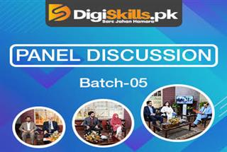 Commencement of Panel Discussion Program Batch-05 (January 2020)