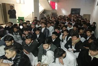 Information Session at Al Badar College, Swabi